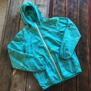 Columbia Teal Light Hooded Jacket